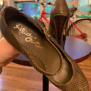 Alice + Olivia Shoes - Alice & Olivia High Heel Mary Jane.